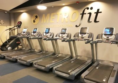 Apartments in Center City with on-site MetroFit fitness center